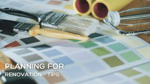 Planning for Renovation Projects